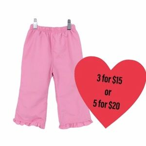 Pink pants toddler 18 months grilled bottoms